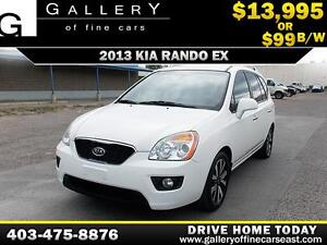 2012 Kia Rondo EX 7 Pass $99 bi-weekly APPLY NOW DRIVE NOW