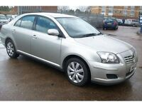 Toyota Avensis Ts3 in superb condition & very low milage for urgent sale due to new company car