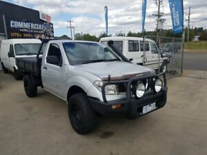 2011 Nissan Navara D40 RX (4x4) 6 Speed Manual Cab Chassis Lilydale Yarra Ranges Preview