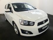 2013 Holden Barina TM MY14 TM MY14 CDX White 6 Speed Automatic Hatchback Clemton Park Canterbury Area Preview