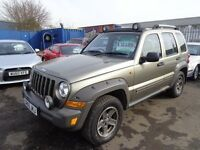 2005 05 reg jeep cherokee renegade 2.8 crd diesel 6 speed mot 1 year ex we 4x4 £1995