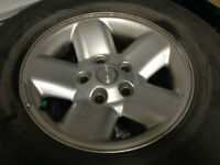 Stock Dodge 1/2 ton wheels and tires