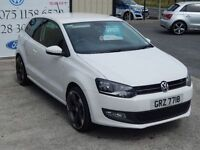 VOLKSWAGEN POLO MATCH EDITION (white) 2013
