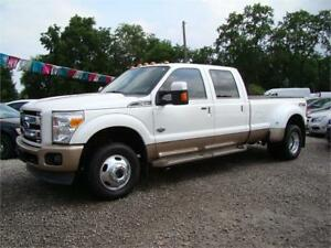 2012 Ford Super Duty F-350 DRW King Ranch Diesel Fully Loaded