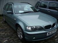 BMW 3 SERIES 318i 2.0i 143BHP SE TOURING ESTATE AUTO (green) 2002