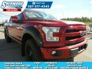 2017 Ford F-150 Lariat 4x4 Roush Supercharged, Fuel Wheels