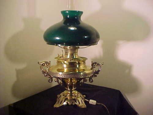 FABULOUS Antique Bradley & Hubbard  Banquet Parlor Lamp, Victorian