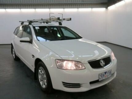 2013 Holden Commodore VE II MY12.5 Omega (LPG) White 6 Speed Automatic Sportswagon Albion Brimbank Area Preview