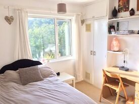 sunny double room available SEPTEMBER short stay welcome