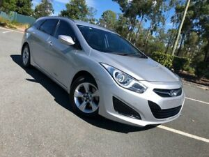 2012 Hyundai i40 VF2 Active Silver 6 Speed Automatic Wagon Arundel Gold Coast City Preview