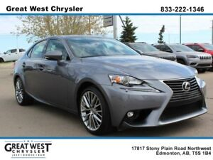2015 Lexus IS 250 SUNROOF**PREMIUM LEATHER**PWR SEATS**ALL WEATH