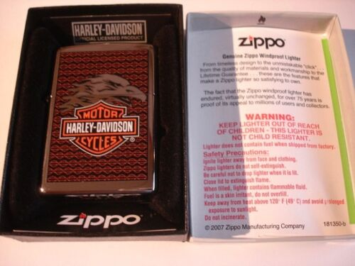 Harley Davidson Eagle Zippo Lighter NEW