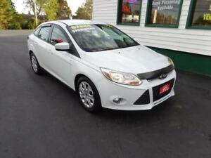 2012 Ford Focus SE for only $99 bi-weekly all in!