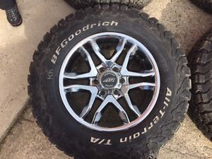 American racing rims with BF Goodrich K02 AT.