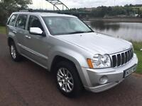 2007 02 JEEP GRAND CHEROKEE 3.0 V6 CRD OVERLAND 5D 215 BHP DIESEL