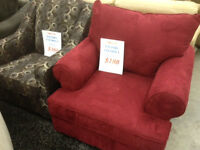 WE PAY the GST! CHAIRS –from $188 each Recliners from $488 each!