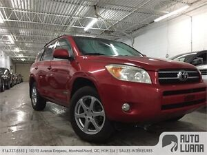 2006 Toyota RAV4 Limited 4WD, 4 CYL, MAGS, TOIT *Propre*