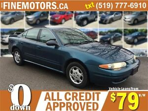 2003 OLDSMOBILE ALERO GX * LOW KM * LOW PRICE * READY FOR WINTER London Ontario image 1