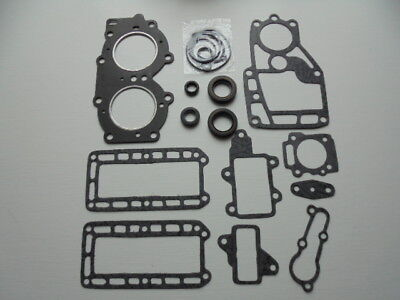 yamaha outboard 15hp 15A  2 stroke head gasket set 662, used for sale  Shipping to Ireland