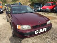 Toyota Carina automatic, starts and drives, does export, car located in Gravesend Kent, any questio