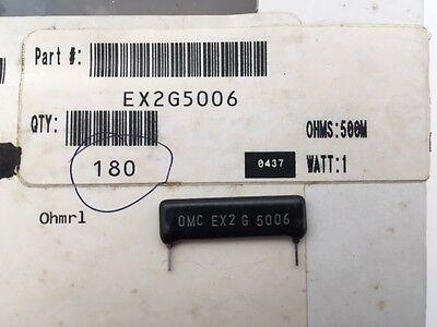 Ex2g5006 Ohmite 1 Watt 500m Ohm 2 High Voltage Thick Film Resistor