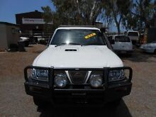 2005 Nissan Patrol Y61 DX White 5 Speed Manual Trayback Garbutt Townsville City Preview