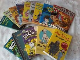 Selection of horrid henry/ and other books