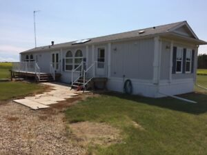 3 Bedroom Mobile Home for Rent on Acreage South of Peace River