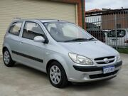 2006 Hyundai Getz TB MY06 Silver 5 Speed Manual Hatchback Mount Lawley Stirling Area Preview
