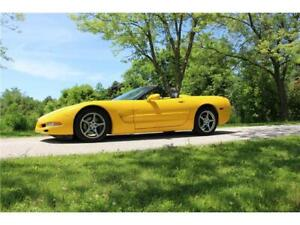 2001 CHEVROLET CORVETTE C5! 6 SPEED MANUAL! PRICED TO SELL