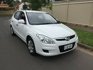 2010 Hyundai i30 FD MY10 SX White 5 Speed Manual Hatchback Broadview Port Adelaide Area Preview