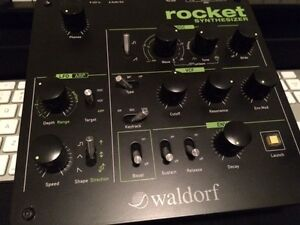 Waldorf Rocket Analog Desktop Synth Kitchener / Waterloo Kitchener Area image 3