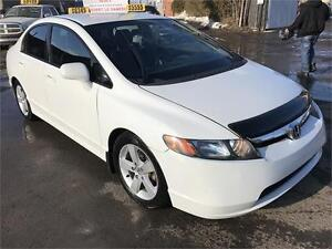 2007 Honda Civic LX  AUTO A/C GAR 1 an FINANCEMENT DISPONIBLE