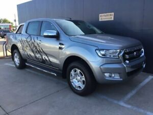 2016 Ford Ranger PX MkII XLT Double Cab Grey 6 Speed Sports Automatic Utility Stuart Park Darwin City Preview