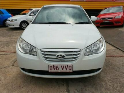 2010 Hyundai Elantra HD SX 4 Speed Automatic Sedan Cardiff Lake Macquarie Area Preview
