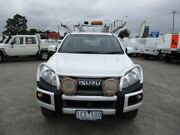 2014 Isuzu D-MAX White Sports Automatic Cab Chassis Pakenham Cardinia Area Preview