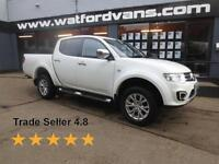 2014 Mitsubishi L200 Barbarian 2.2DI-D 4x4 Double Cab *Fuly Loaded* Diesel white