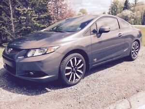 Pristine 2013 Honda Civic EXL Coupe Every Option Available