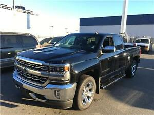 2016 Chevrolet Silverado 1500 LTZ 4x4 6.2 V8 loaded black on bla
