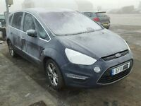 BREAKING FOR PARTS FORD S-MAX TITANIUM 2011 1.6 TDCI 115 BHP IN MIDNIGHT SKY