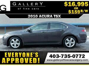 2010 Acura TSX $159 bi-weekly APPLY NOW DRIVE NOW