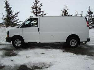 2007 CHEVY EXPRESS 3500 CARGO VAN 6.0L 215K ONLY $8,925.