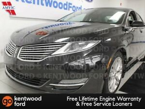 2013 Lincoln MKZ 3.7L AWD, NAV, sunroof, heated/cooled power lea
