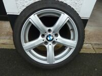 BMW Z4 WINTER ALLOYS AND TYRES X 4