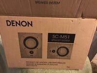 Denon SCM51 Speakers