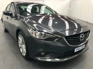 2013 Mazda 6 GJ1021 GT SKYACTIV-DRIVE Grey Sports Automatic Sedan Fyshwick South Canberra Preview
