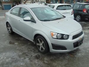 Chevrolet Sonic 4dr Sdn LS 2012