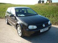 Volkswagen Golf Mk4 (Black, manual, 3 door)