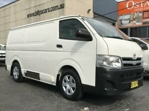 2013 Toyota HiAce TRH201R MY12 Upgrade LWB White 4 Speed Automatic Van Revesby Bankstown Area Preview