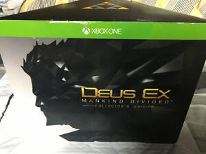 Sealed Deus Ex Mankind Divided collector's edition Xbox One